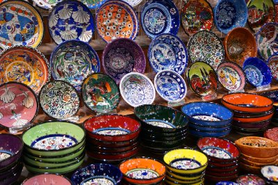 Ceramıcs at the spıce markets