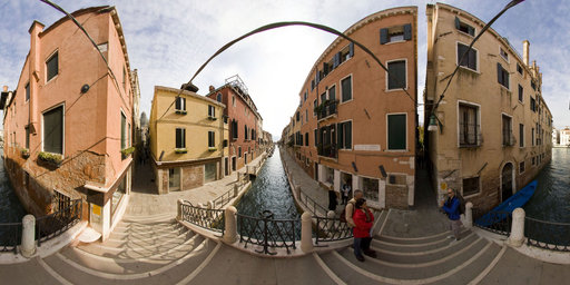 Bridge over Venice canals