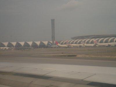 Bangkok Airport - Coup d´etat