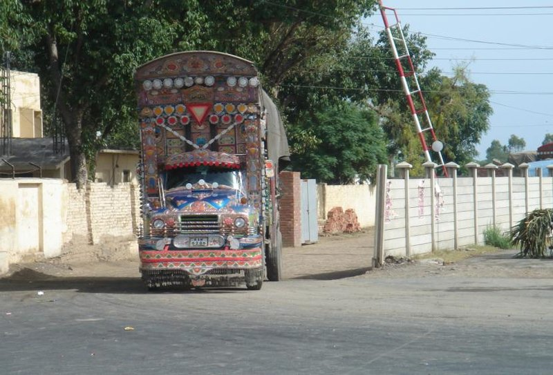 Amritsar Border in the way to Lahore (Pakistan)