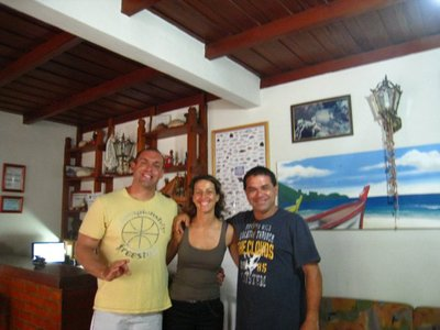 Guilleme and Paulo, my two diving instructors.