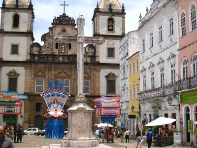 My most frequented square in Salvador