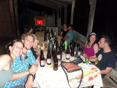 A regular night at Santa Maria pub