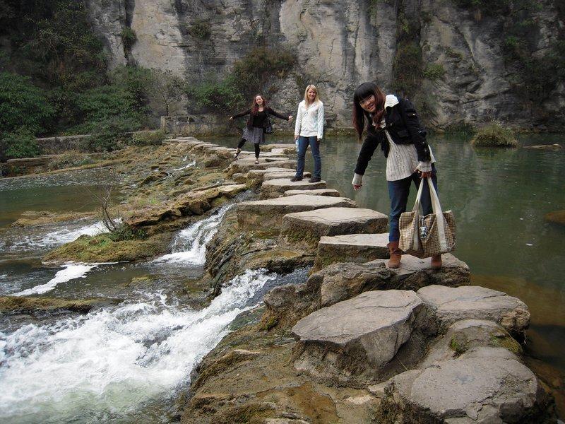 Tianhetan waterfall