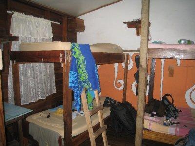 A bunk at Hostel Heike