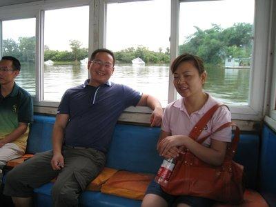 Jian Zhirui and Yan Dong