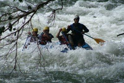 Rafting the Sarapiqui