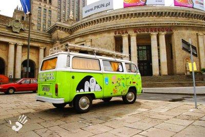 Hippy Van in Warsaw