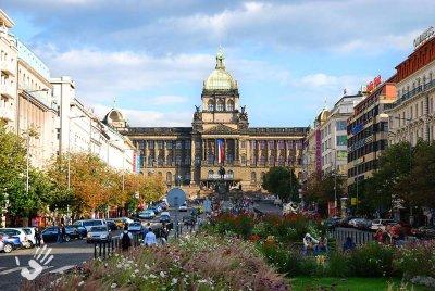 Vaclav Square in Prague