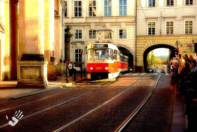 Tram in Prague