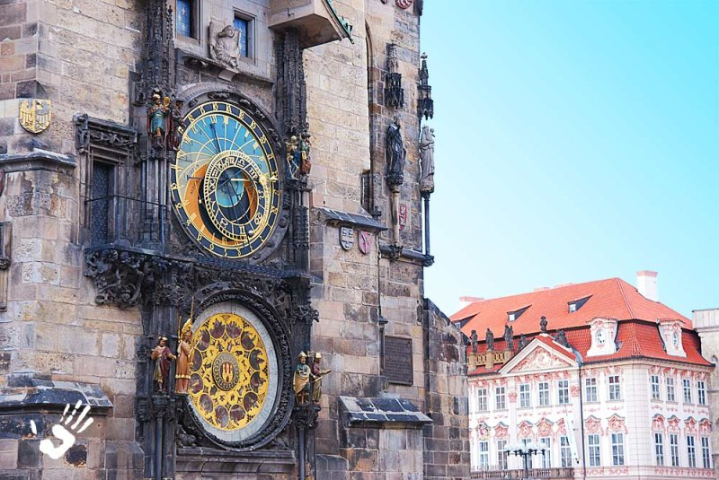 Prague clocks
