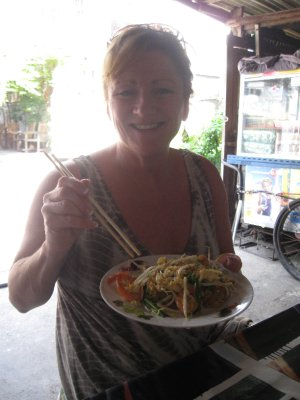 Pat's First Pad Thai