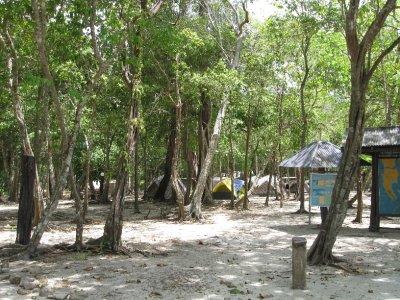 Camping on Ko Rok