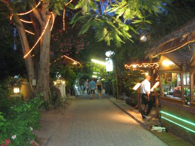 Street of Ko Phi Phi