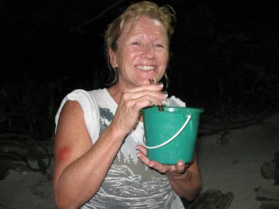 Pat and her First Bucket!