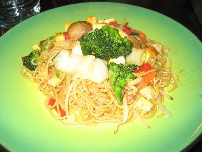 Vegitarian Fried Noodles