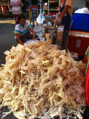 Making Bamboo Juice