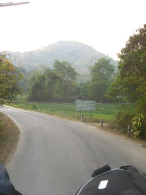 Road to the Akha Hill House