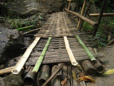 Ahka Hill Waterfall Bridge