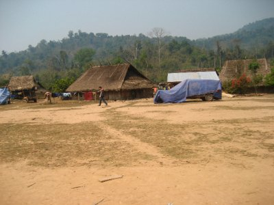 Village near the Gibbon Experience