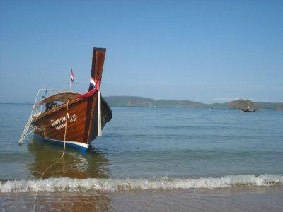 Long-tail Boat at Ao Nang Pier