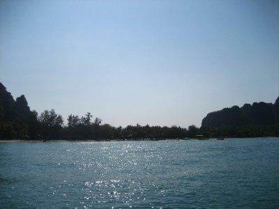 West side of Railay Beach
