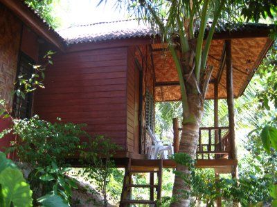 Our Bungalow at the Garden View Resort at Railay Beach