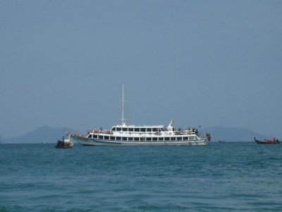 the ferry we took to Koh Lanta from Railay Beach