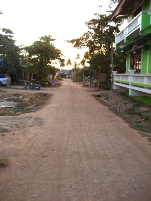 Road to the Blue Adaman Resort