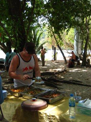 Lunch on Ko Rok