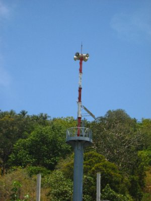 Tsunami Tower on Ko Phi Phi Beach