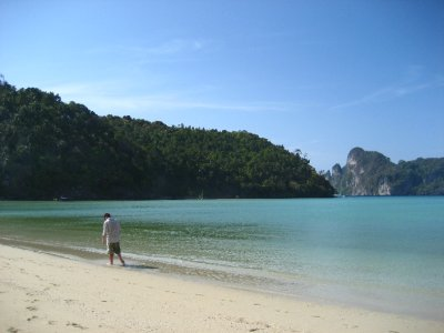 Tyler at Ko Phi Phi Beach