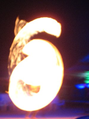 Fire Show at Apache Bar on Ko Phi Phi Beach