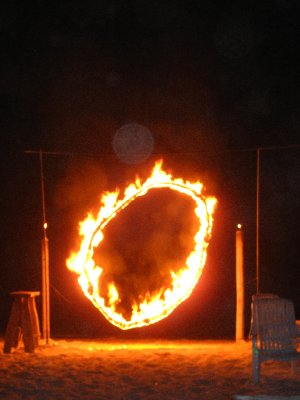 Fire Hoop Ko Phi Phi Beach