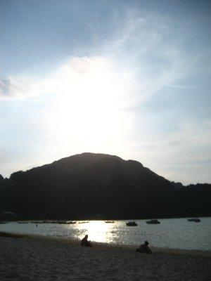 Sunset on Ko Phi Phi Beach