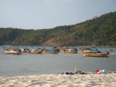 Ko Phi Phi at low tide