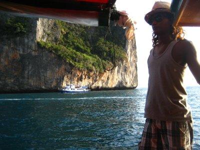 Boat ride to Maya Bay