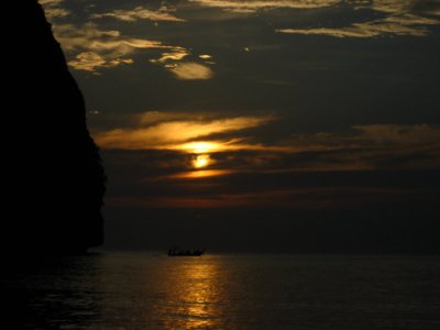 Maya Bay Sunset