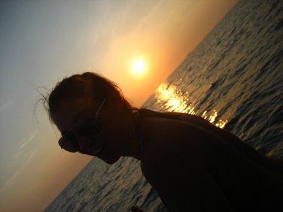 Sarah during Sunset