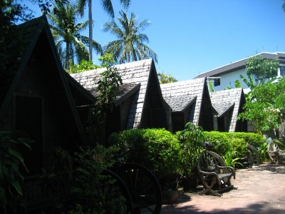 The A-Frame Bungalows at The Spa Resort