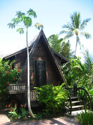Our A-Frame Bungalow at The Spa Resort