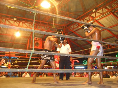 Muay Thai Fight at Lamai Beach