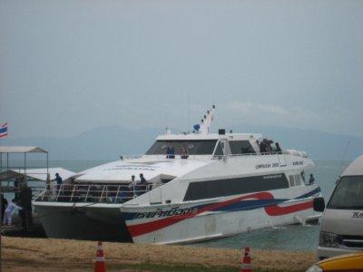 The Ferry we took to Ko Phangan