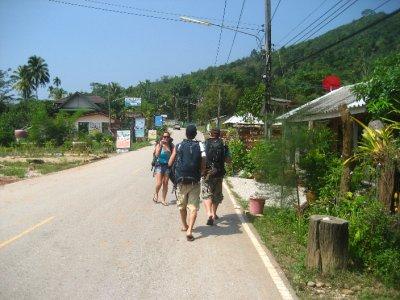 Walking in Khao Sok