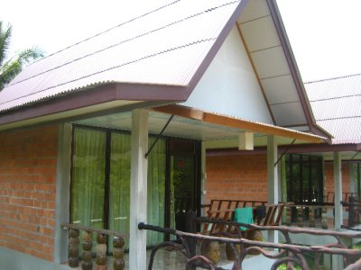 Our bungalow at Smiley Bungalows in Khao Sok