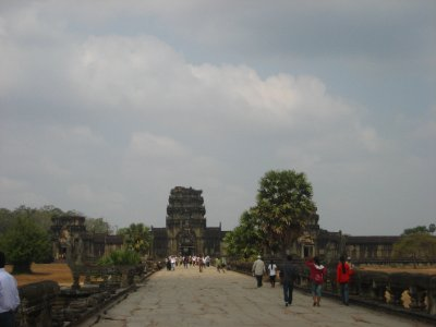 front gate of Angkor Wat