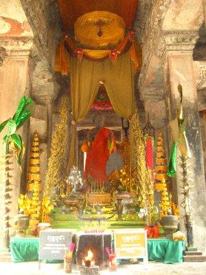 Buddha at Angkor Wat