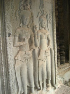 Carvings at Angkor Wat