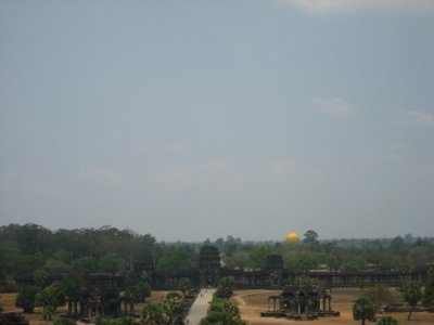 View from Angkor Wat