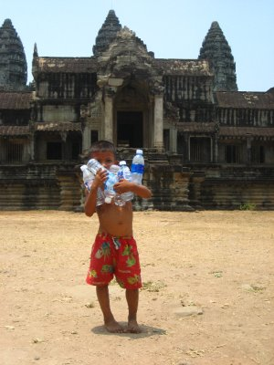 Local Boy at Angkor Wat